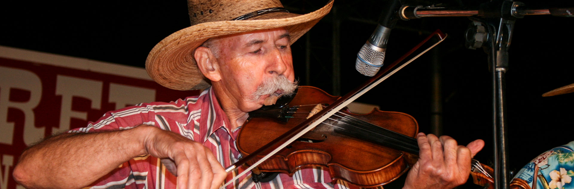 Man playing Fiddle
